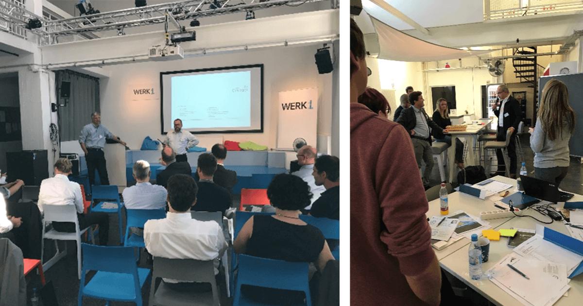 InsurTech Hub Munich and Versicherungsforen Leipzig take up event series at Werk1